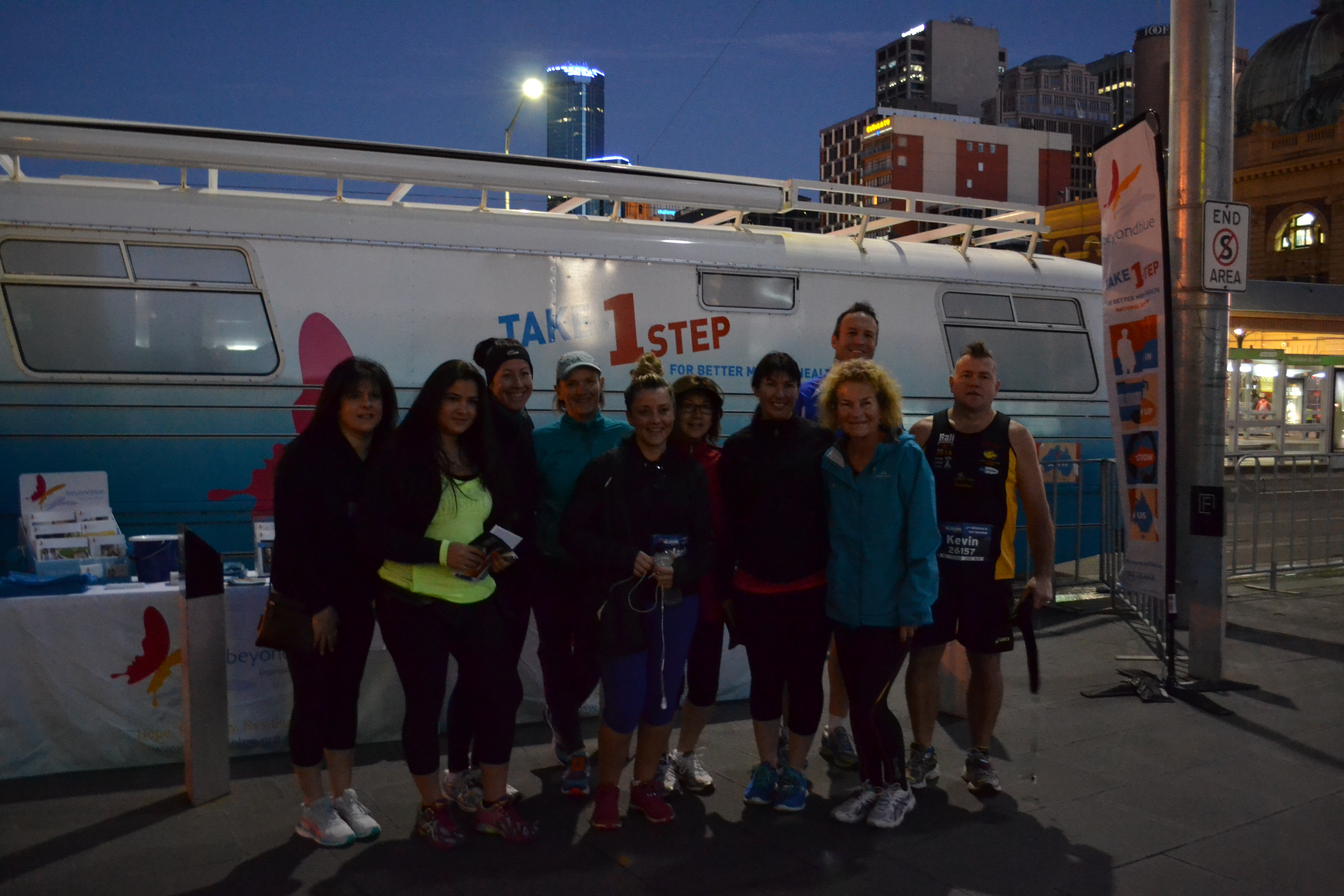 Up before the sun for Run Melbourne.