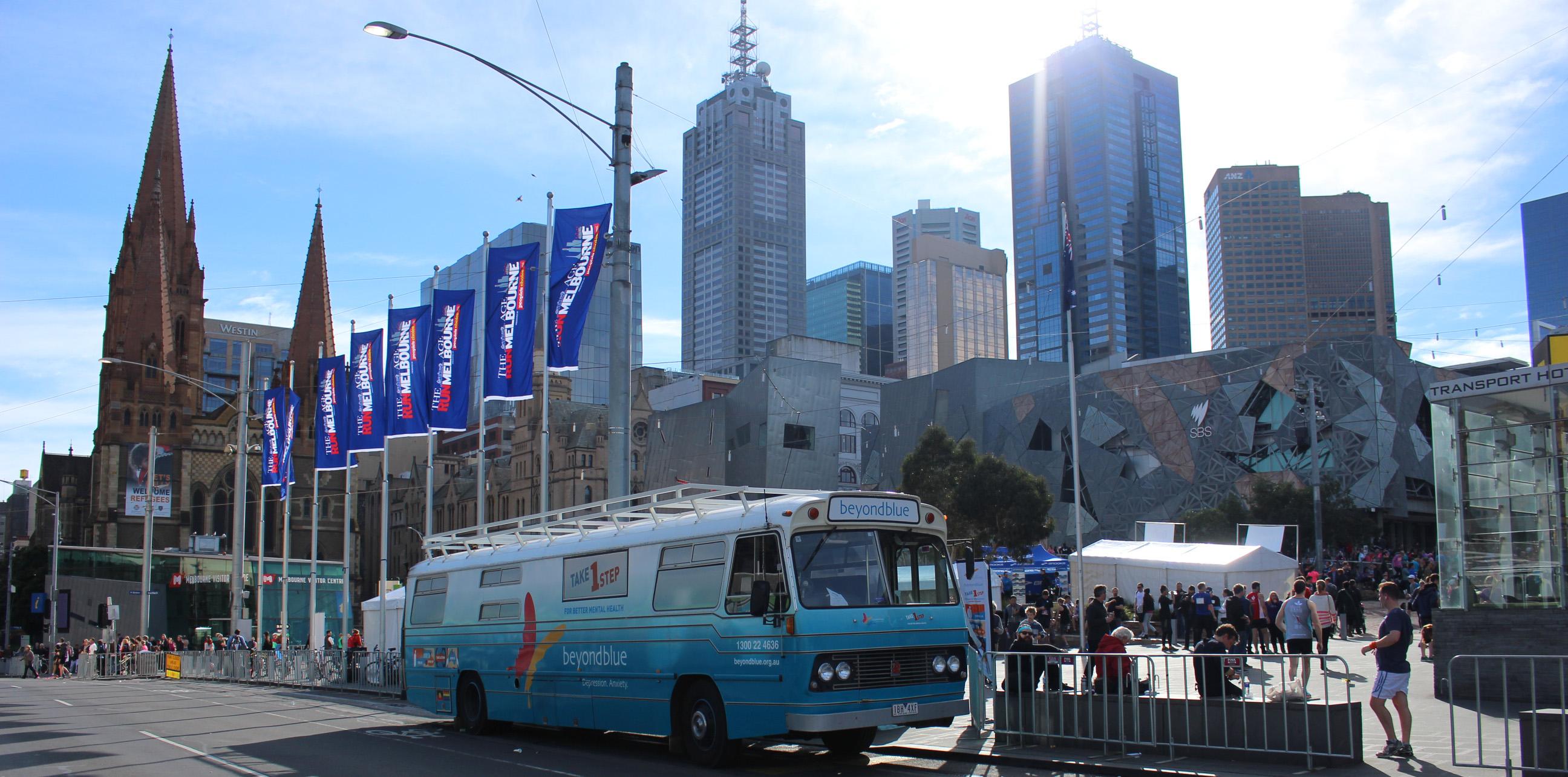 Roadshow Rhonda took centre stage in Melbourne.