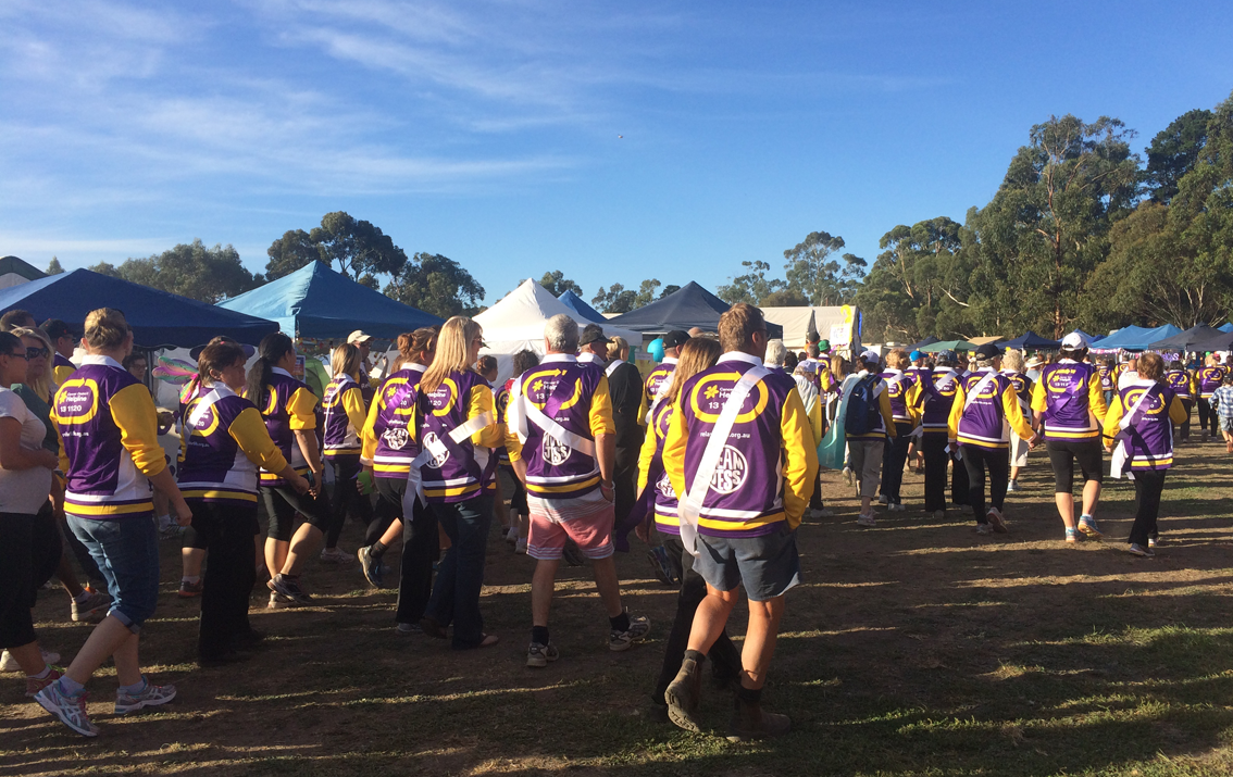 Thousands of people took part in the Relay for Life at Akoonah Park.