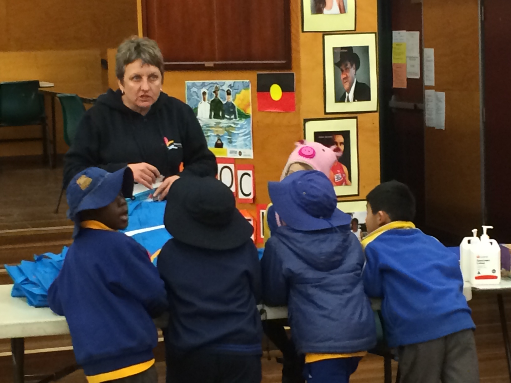 Answering the tough questions in life at Kogarah Community Services after school program!