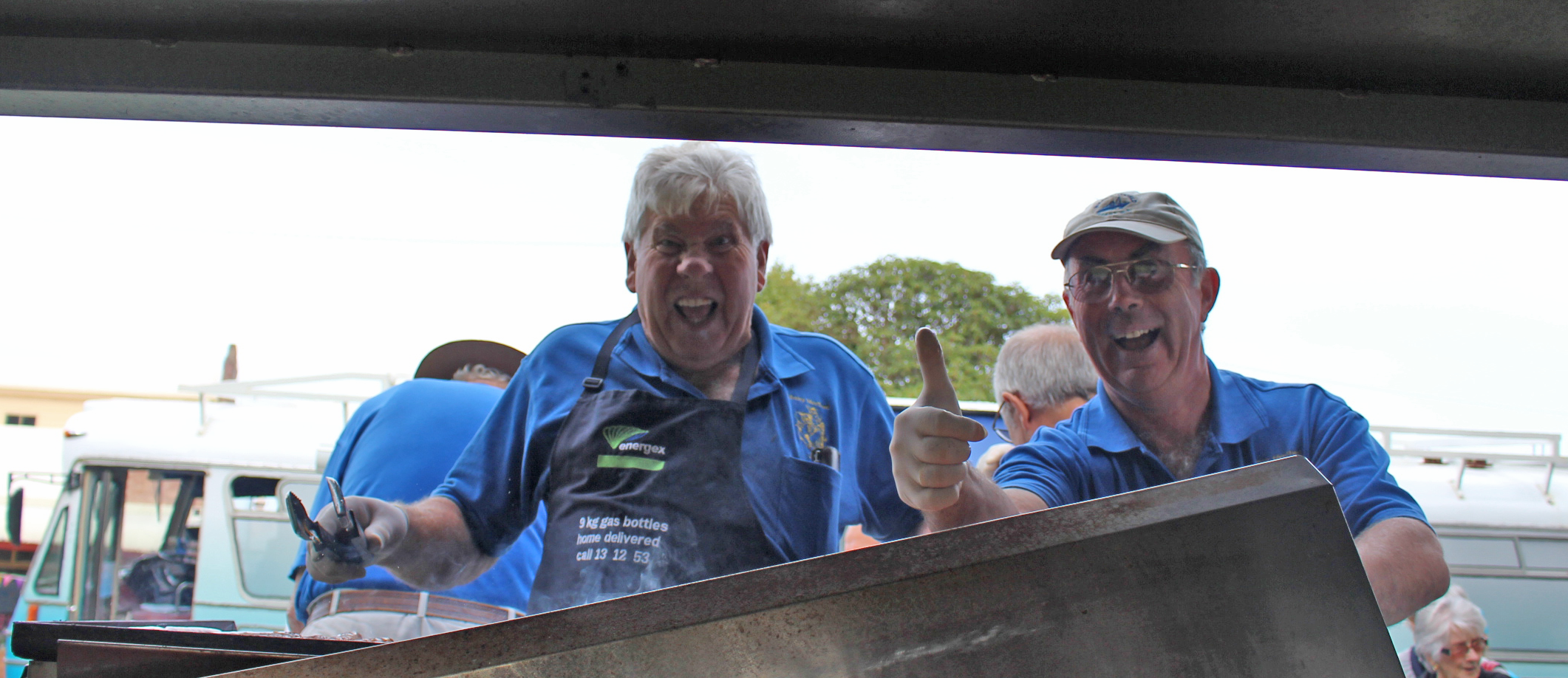 Albany Mens Shed cooked up a delicious barbecue!