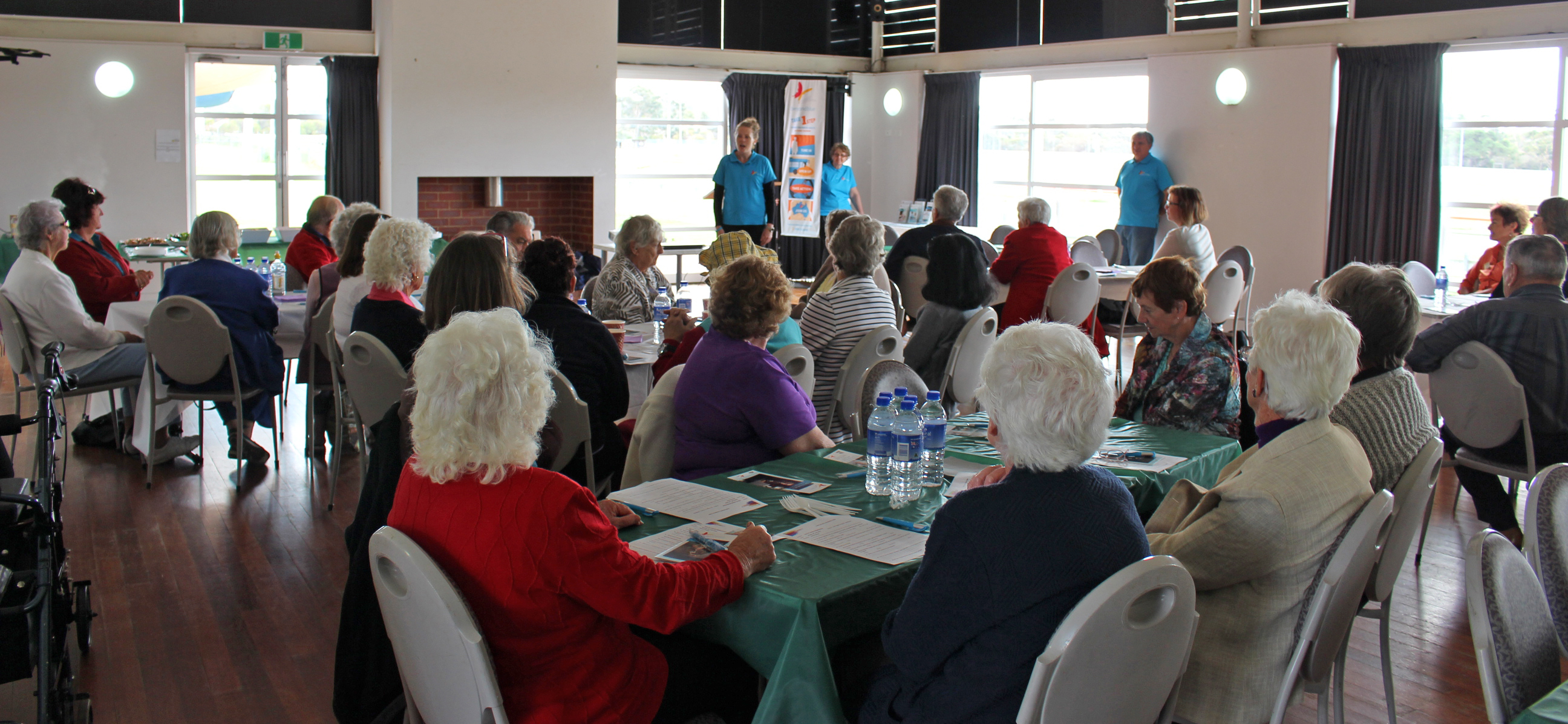 Addressing the healthy ageing luncheon in Narrogin.