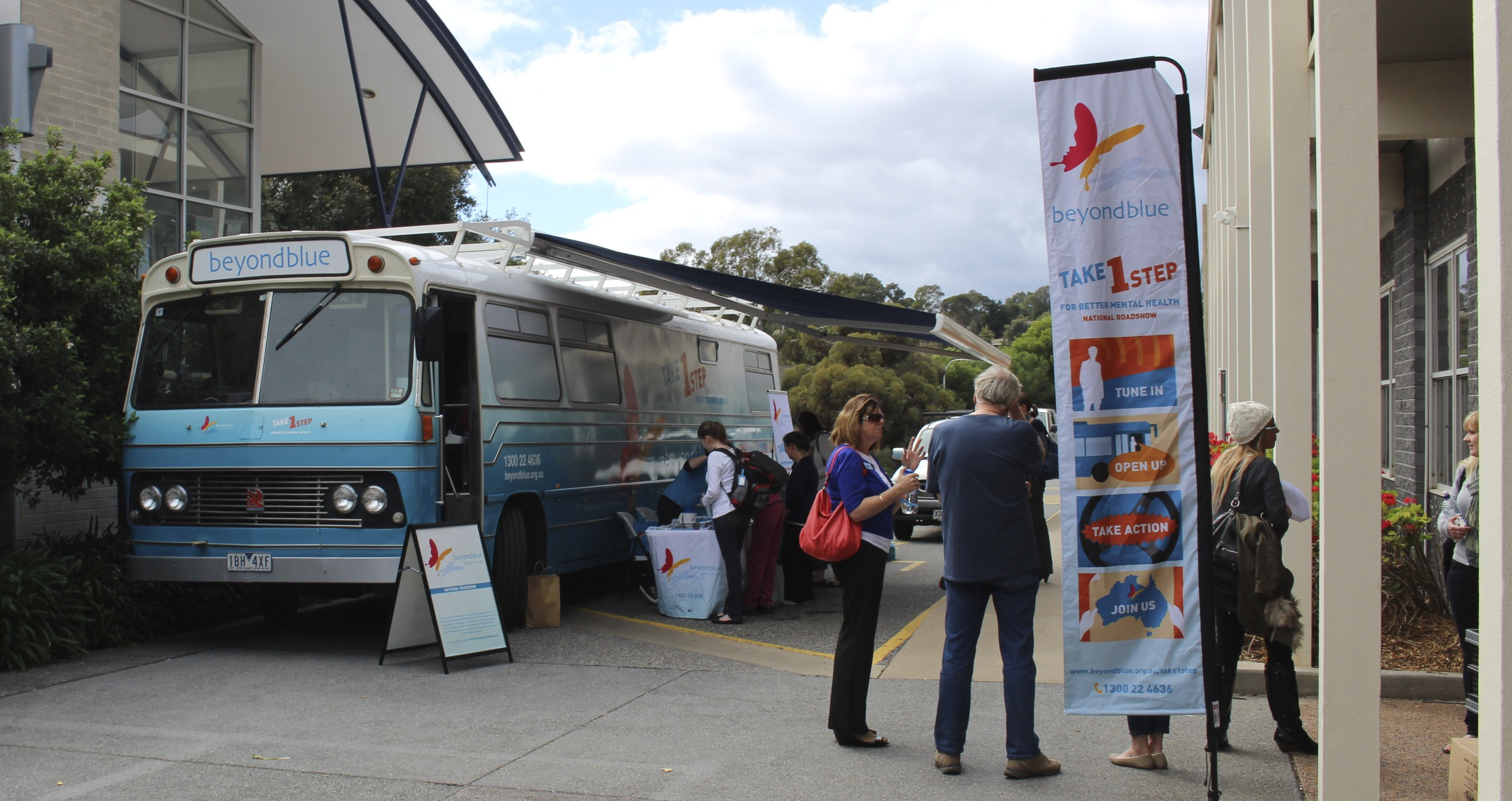 Roadshow Rhonda at Flinders University.