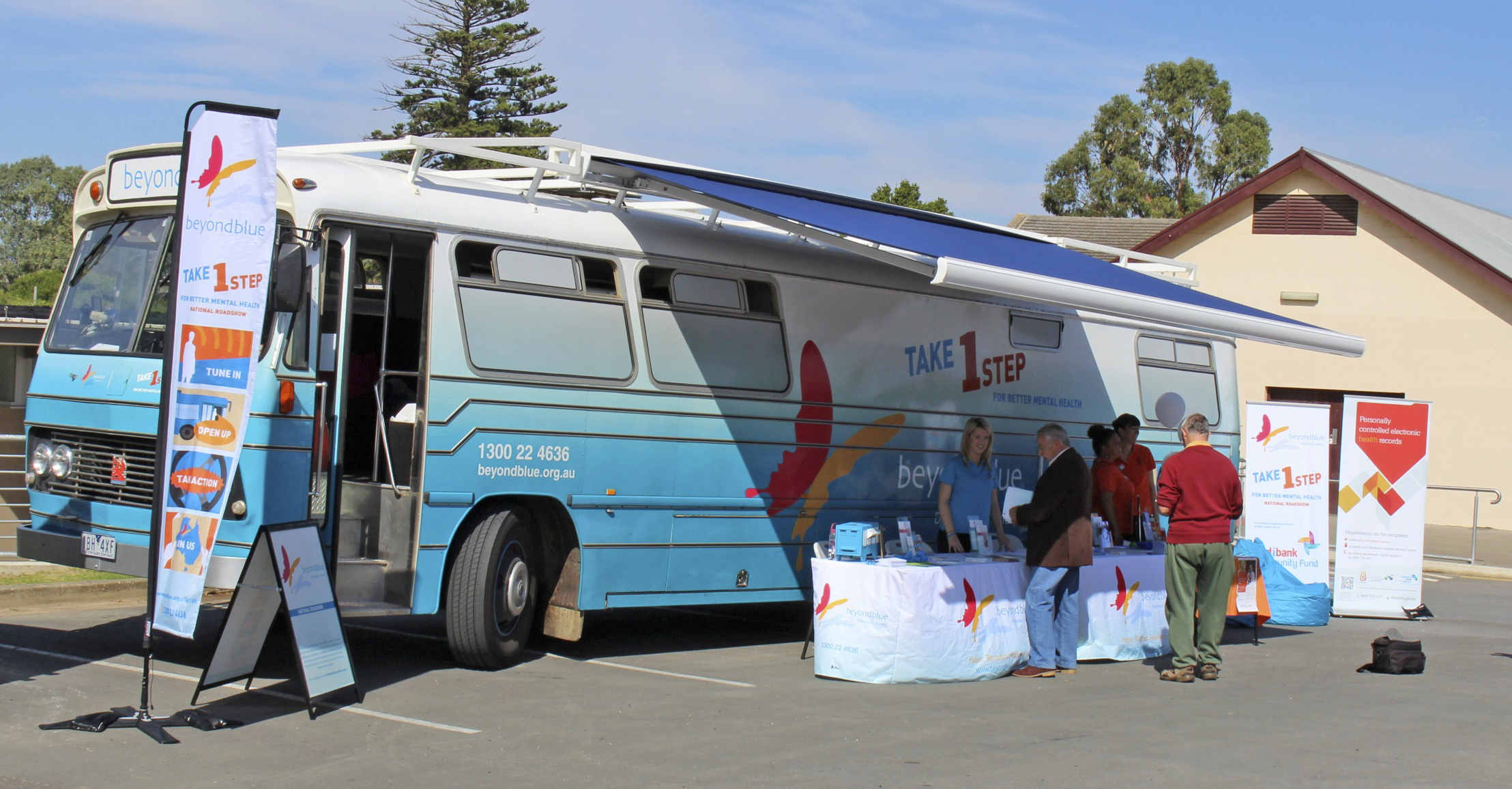 The Roadshow visited a Close the Gap event in Strathalbyn.
