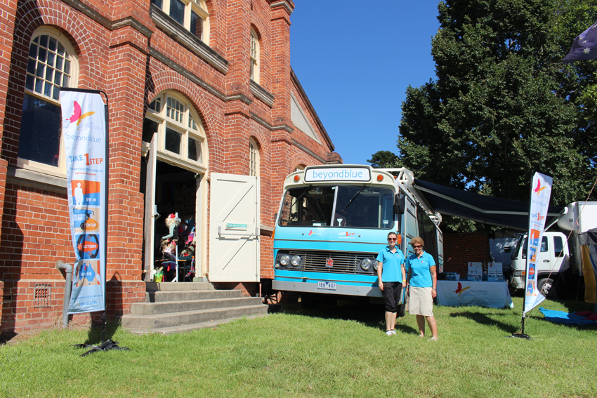 The bus attended the Bega Show.