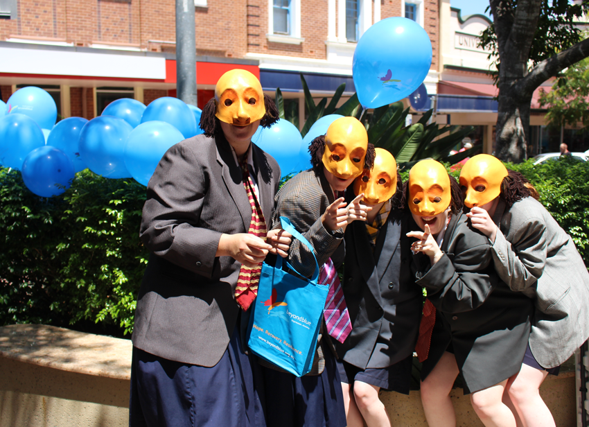 The InterAct Youth Theatre supported the Gympie event.