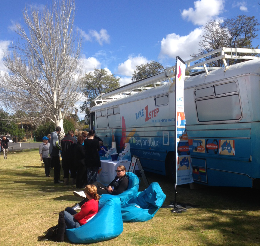 Resources were in demand at the Men's Shed community barbecue in Dubbo.