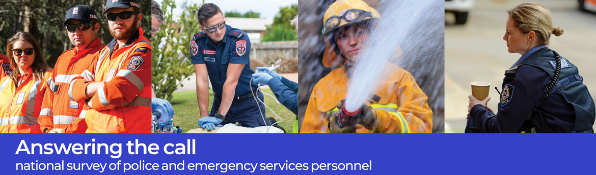 Answering the call - national survey of police and emergency services personnel