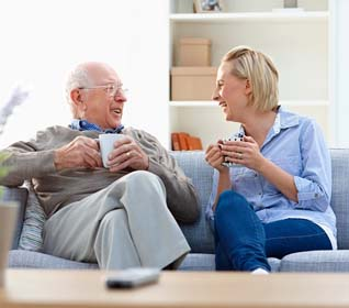 have the conversation with an older person